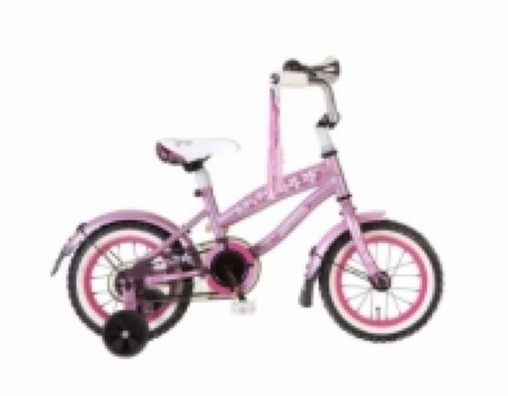 roze bmx fiets